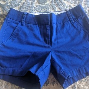 JCrew Chino shorts size 4 blue